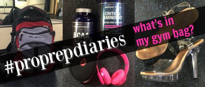 Pro Prep Diaries Gym Bag