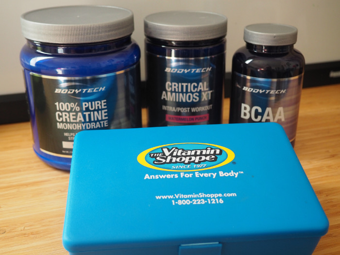Vitamin Shoppe Creatine Aminos BCAA