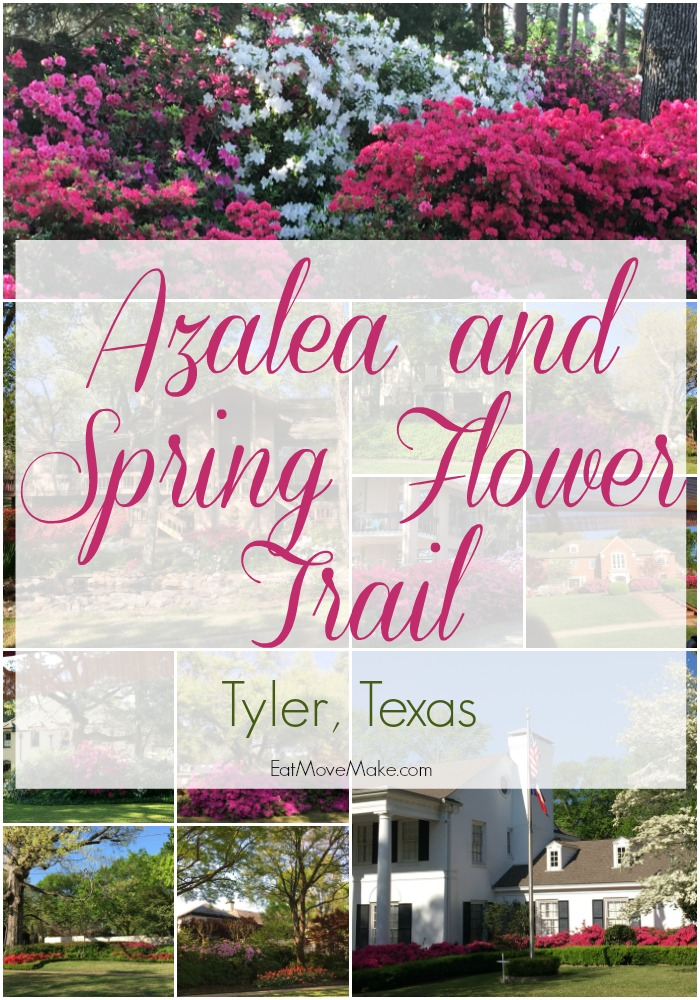Azalea and Spring Flower Trail - Tyler Texas
