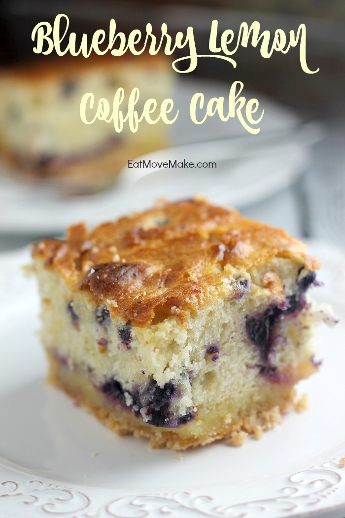 Blueberry Lemon Coffee Cake - a perfect brunch recipe