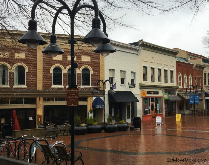 Downtown Mall - Charlottesville Virginia