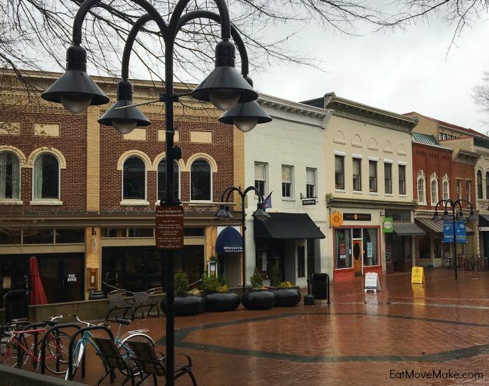 Downtown Mall - Charlottesville Virginia