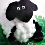 Pom Pom Sheep Easter Craft