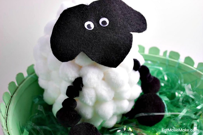 Easter Pom-Pom Sheep
