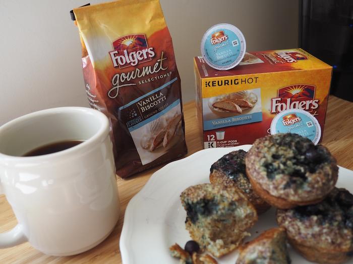 Folgers Gourmet Selections Vanilla Biscotti