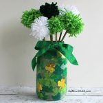 St. Patrick's Day Craft – Make a Pom Pom Flower Vase!