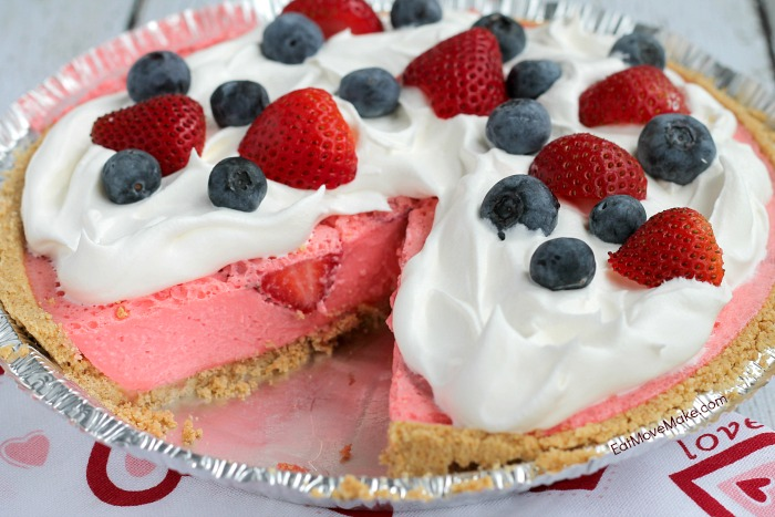 Strawberry cream cheese jello pie recipe