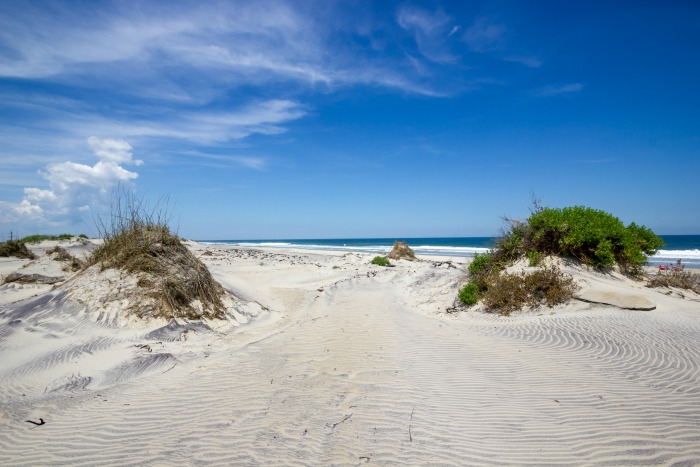 sand dunes Outer Banks NC