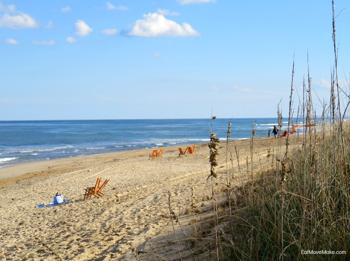 beach at the Sanderling - Duck NC