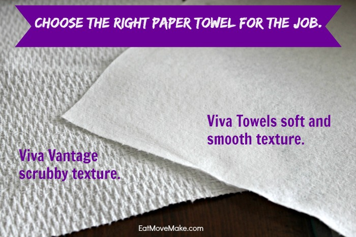 choose the right paper towel for the job