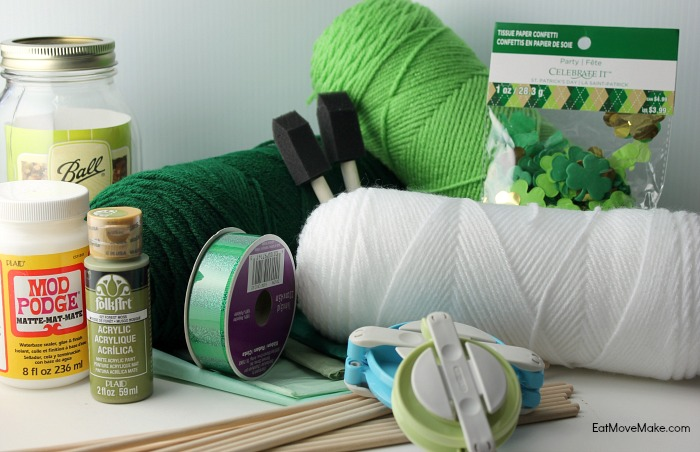 craft supplies - St. Patrick's Day craft