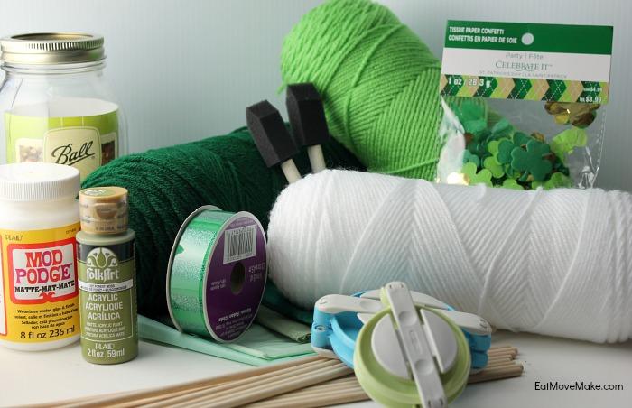 craft supplies - St. Patrick's Day craft