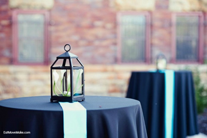 DD wedding centerpieces