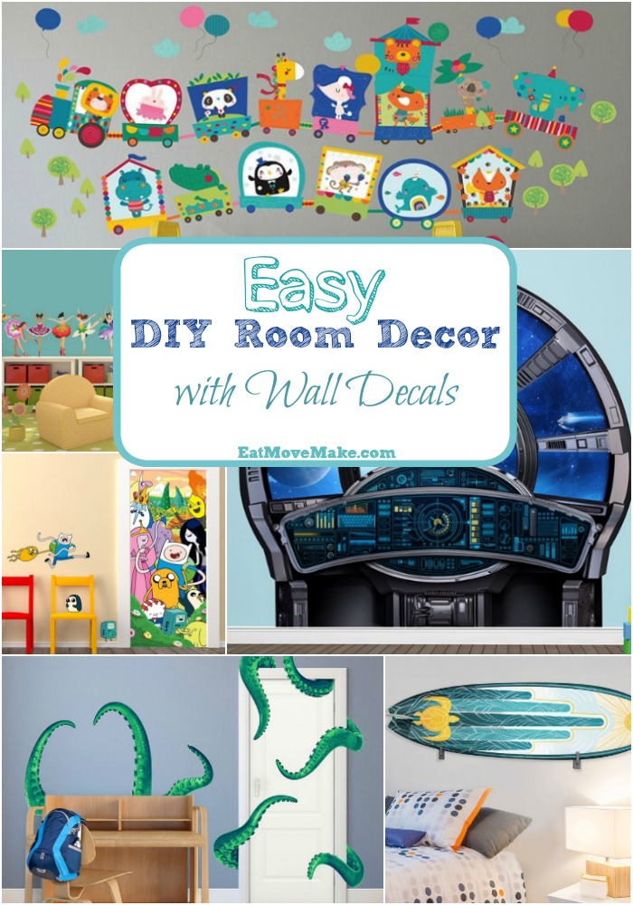 Wall stickers archives eat move make for Room decor easy