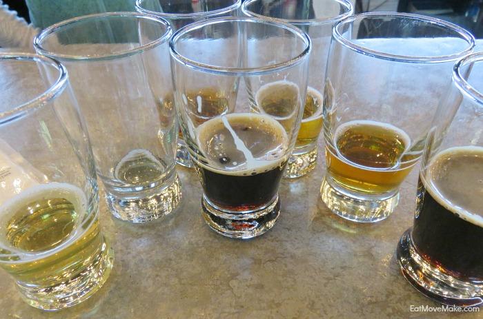 beer tasting - Starr HIll Brewery Charlottesville VA