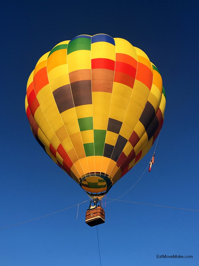 hot air balloon ride - Longview Texas - Balloon Adventures USA