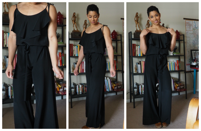 thredUP black jumpsuit