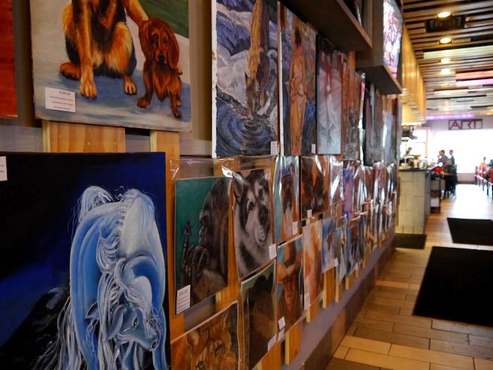 ART Sushi gallery