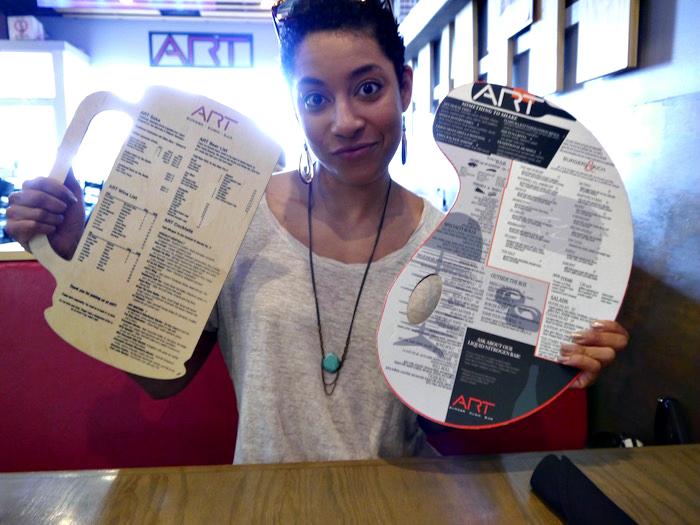 ART Sushi menu