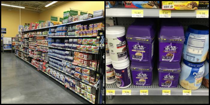 EAS Whey Protein at Walmart