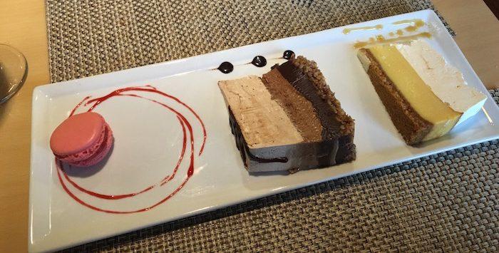 Myrtle Beach Croissant's dessert plate