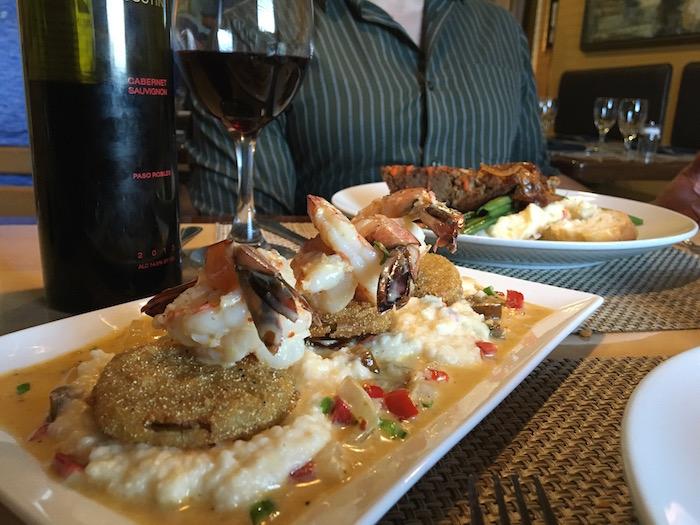 Myrtle Beach Croissant's shrimp grits