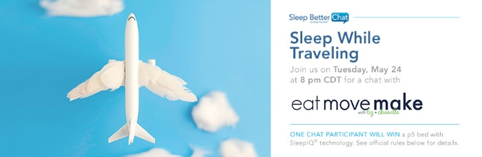 Sleep While Traveling Twitter Party
