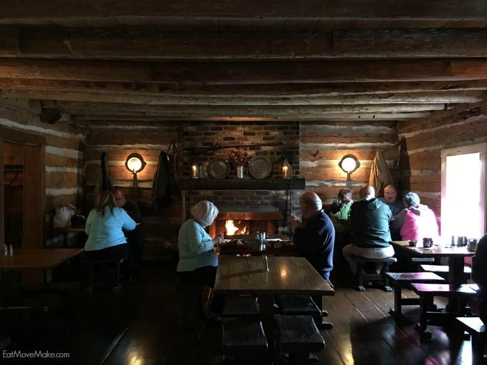 historic Michie Tavern restaurant - Charlottesville VA