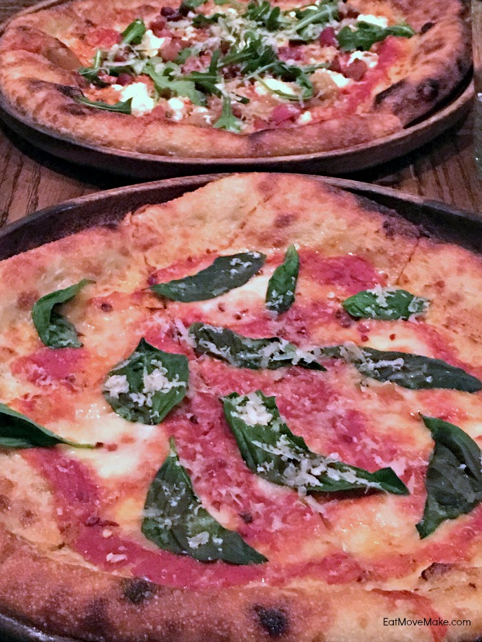 pizza at Red Pump Kitchen - Charlottesville