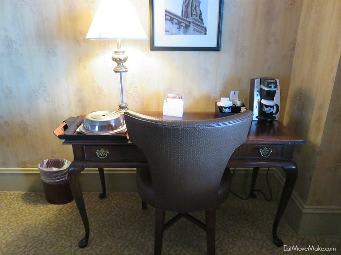 Dunhill Hotel guest room - Charlotte NC