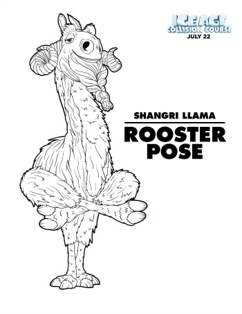 Ice Age coloring pages - 2