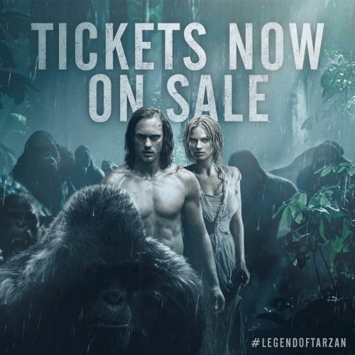 Legend of Tarzan movie tickets