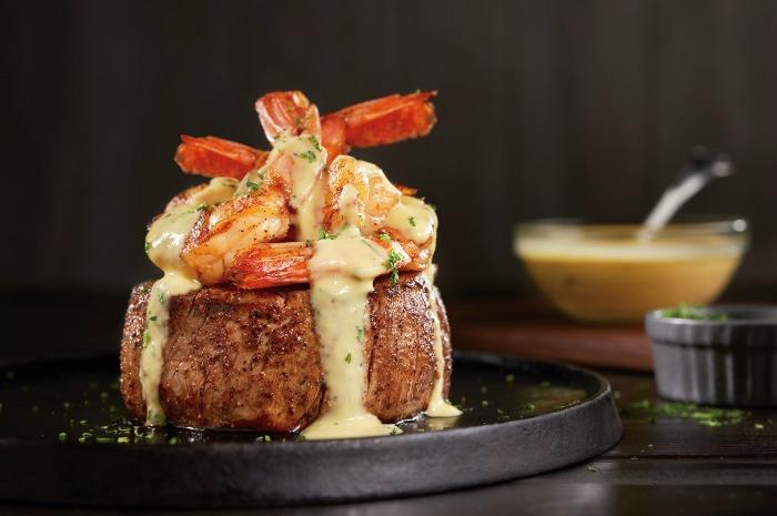 New Béarnaise Jumbo Shrimp Topped Filet - Outback Steakhouse