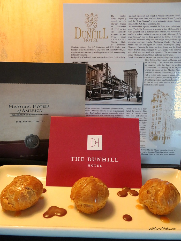Dunhill Hotel Restaurant Charlotte Nc