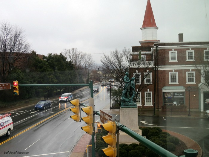 view from Residence Inn - Charlottesville hotels