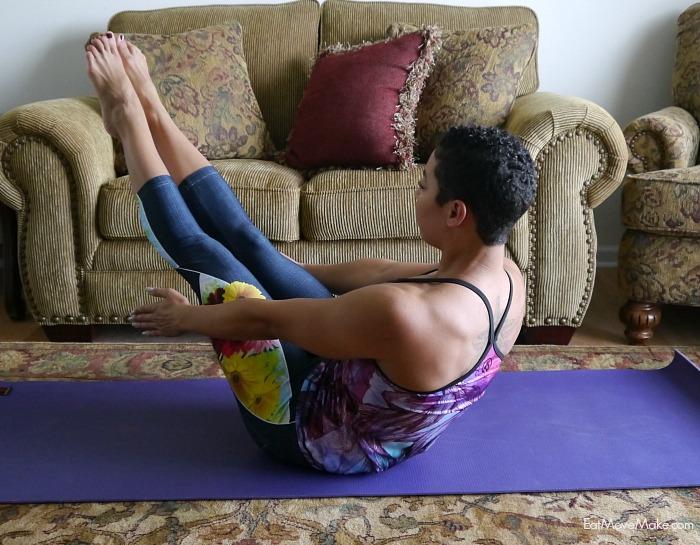 yoga boat pose (navasana)