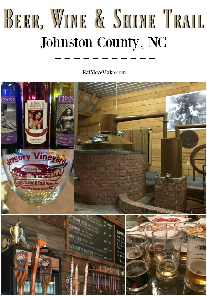 Beer, Wine & Shine Trail - Johnston County NC