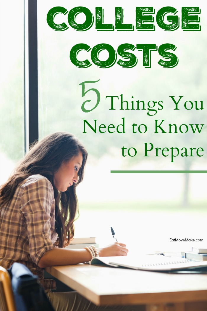 college costs - 5 things you need to know to prepare