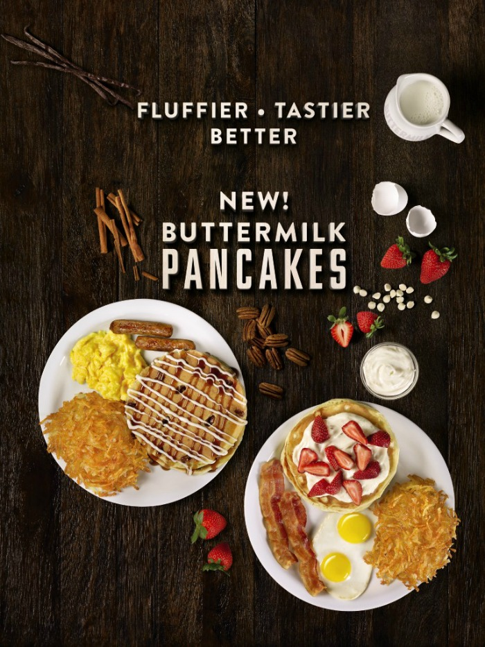Denny's new pancakes photo