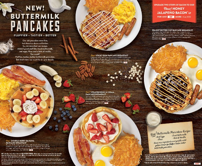 Denny's new pancakes