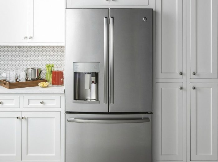 GE French Door Fridge with Keurig