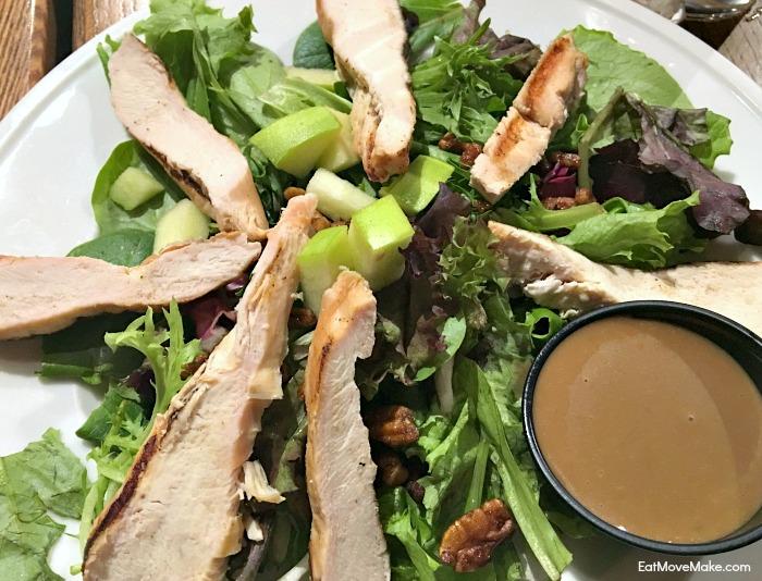 Maple Roasted Pecan Salad - Cafe Barron's Longview TX