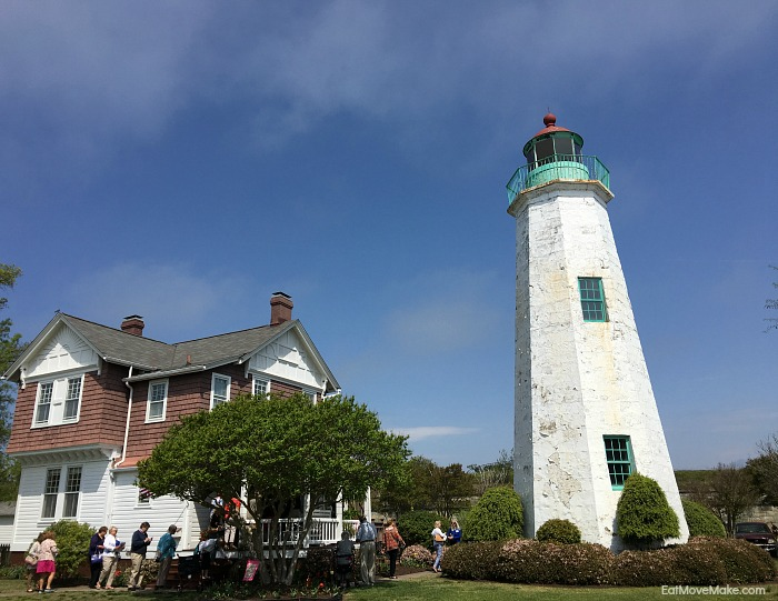 Old Point Comfort Lighthouse at Fort Monroe - Hampton VA