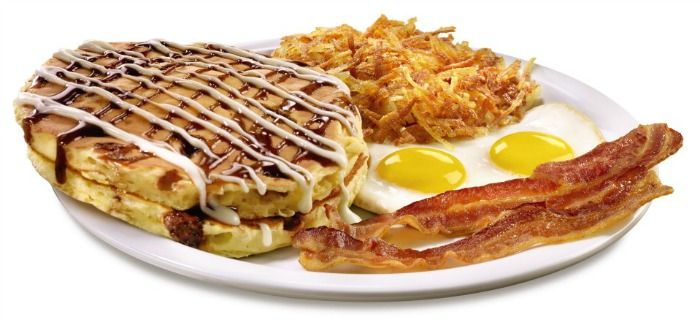 Sticky Bun Pancakes - Denny's