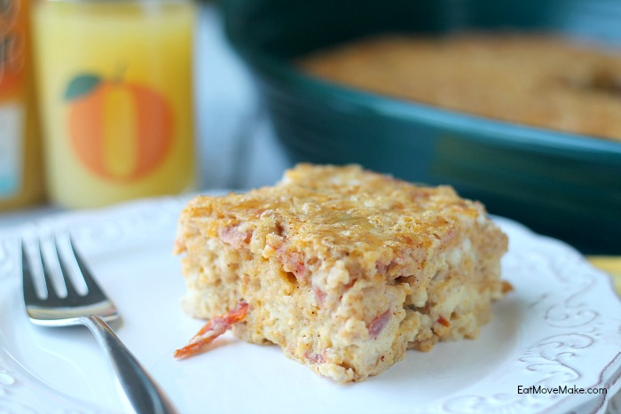 Tex-Mex Breakfast Bake breakfast casserole