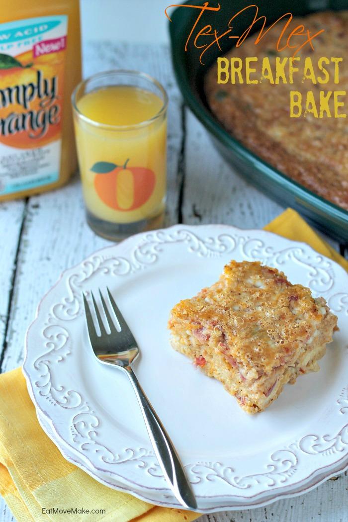 Tex Mex Breakfast Bake recipe