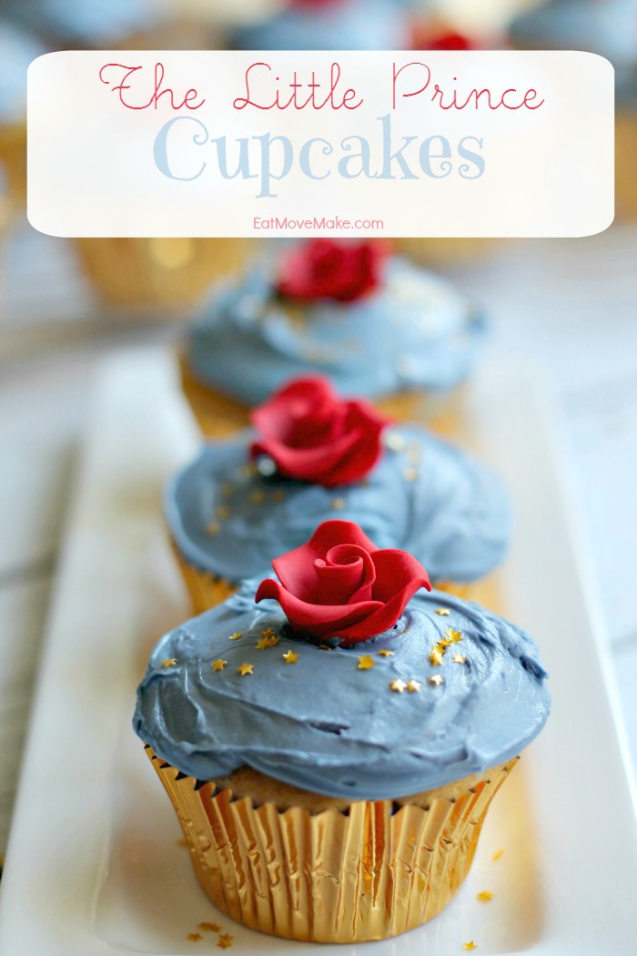 The Little Prince Cupcakes recipe
