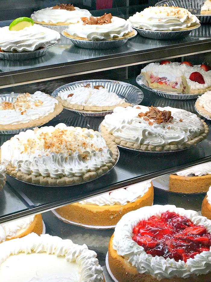 bakery fresh pies at Butcher Shop Longview TX