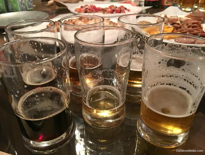 beer tasting - Double Barley Brewing - Smithfield NC