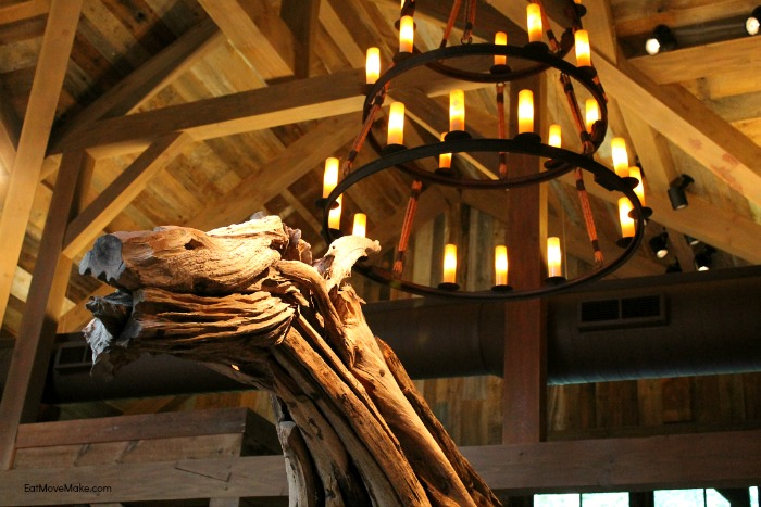 Artisanal restaurant - Banner Elk NC (giant driftwood horse sculpture)